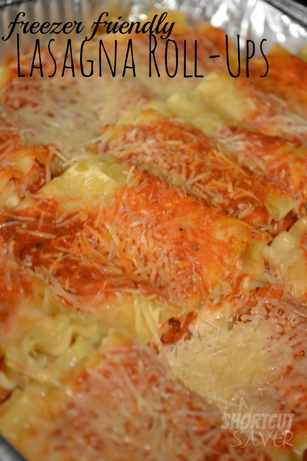 freezer friendly lasagna roll-ups