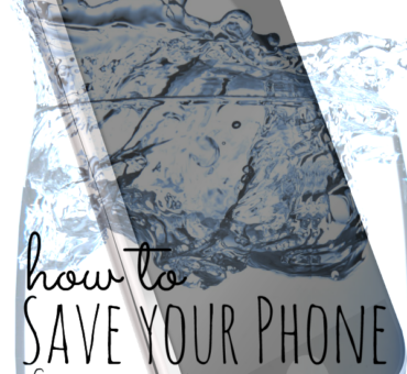 How to Save your Phone from Water Damage