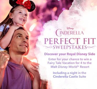 Cinderella Perfect Fit Sweepstakes (ends 3/27) #Cinderella