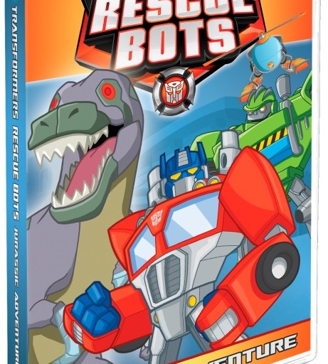 Transformers Rescue Bots: Jurassic Adventure on DVD February 10th