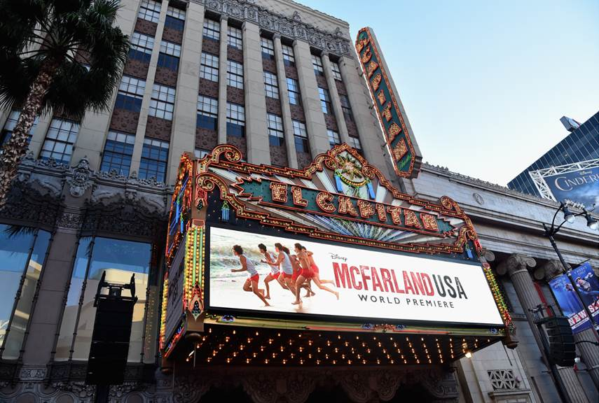 McFarland USA Red Carpet Premier