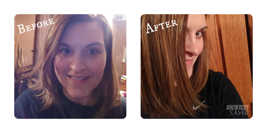 Instyler before and after