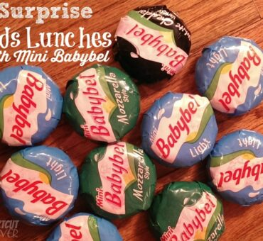 Surprising Kid's Lunches with Mini Babybel