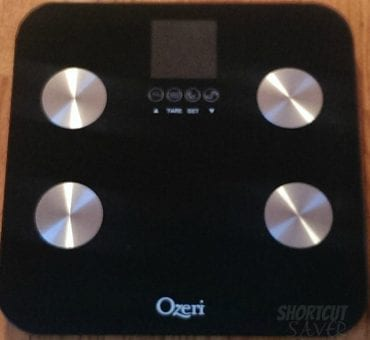 Ozeri Touch Total Body Bath Scale Review