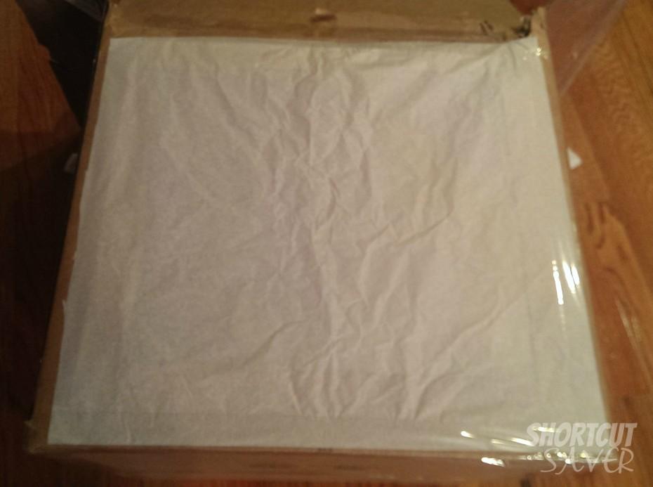 photo light box tissue paper