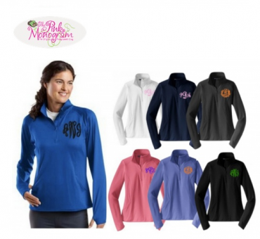 The Pink Monogrammed Pullover Review + Giveaway