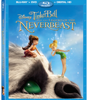Tinker Bell and the Legend of the NeverBeast now Available on Blu-Ray/DVD