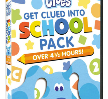Blue's Clues: Get Clued Into School Pack on DVD March 10th