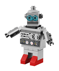 Build a FREE LEGO Mini-Robot on Tuesday, March 3rd