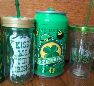 New St. Patrick's Day Cups from Cool Gear Inc