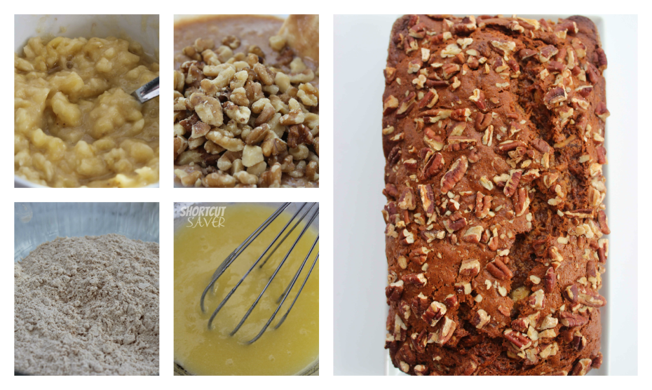 banana nut bread process