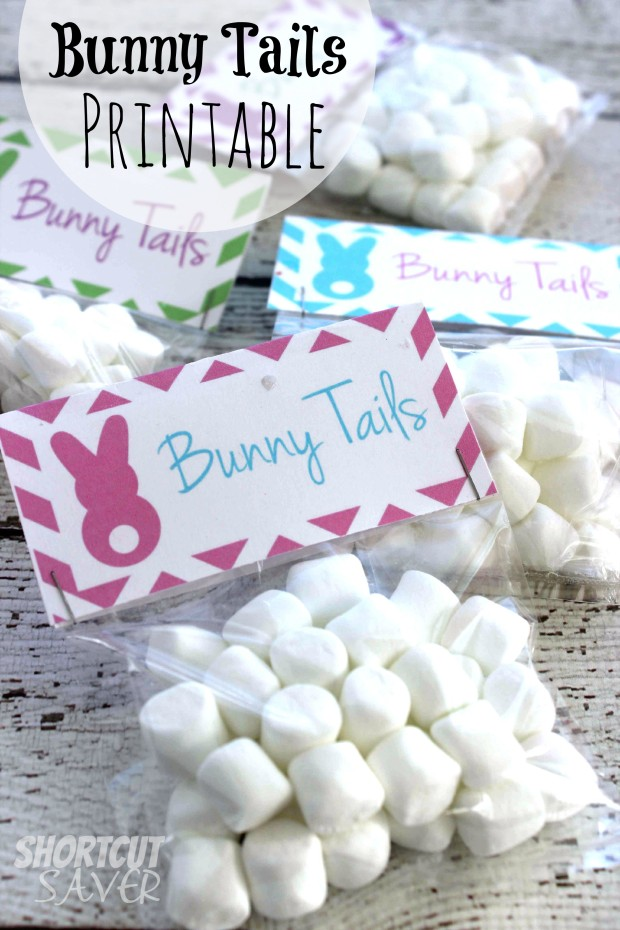 Bunny Tails Printable - Everyday Shortcuts