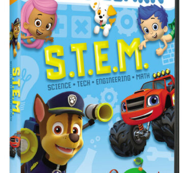 Nickelodeon Let's Learn S.T.E.M. on DVD April 28th
