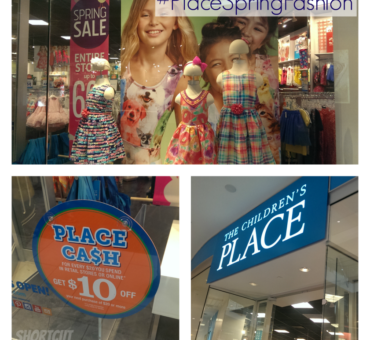 Spring Fashions at The Children's Place #PlaceSpringFashion