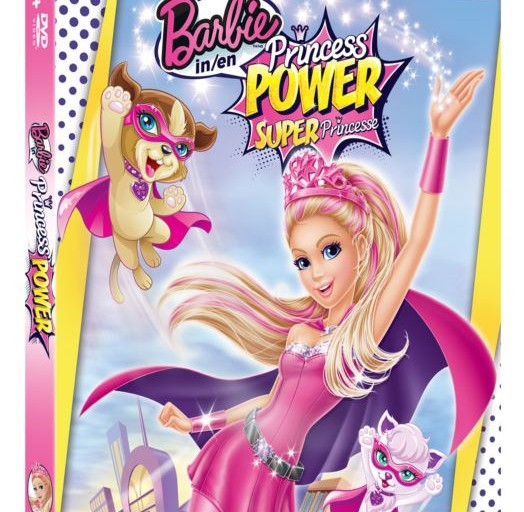 Barbie in Princess Power Blu-Ray/DVD Giveaway