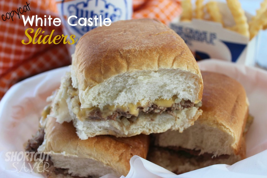 Copycat white castle sliders everyday shortcuts for White castle double fish slider with cheese