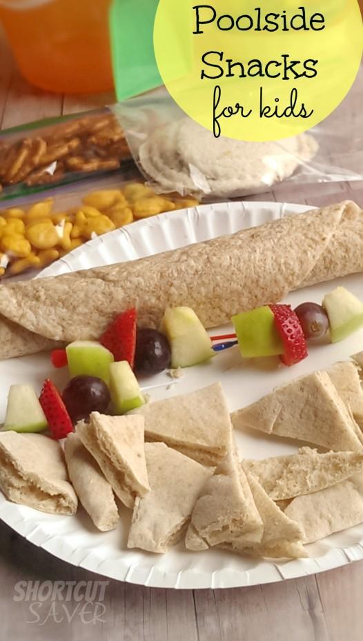 poolside snacks for kids