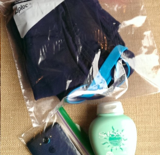 Summer Organization Tips for the Pool with New Ziploc Brand Easy Open Tabs