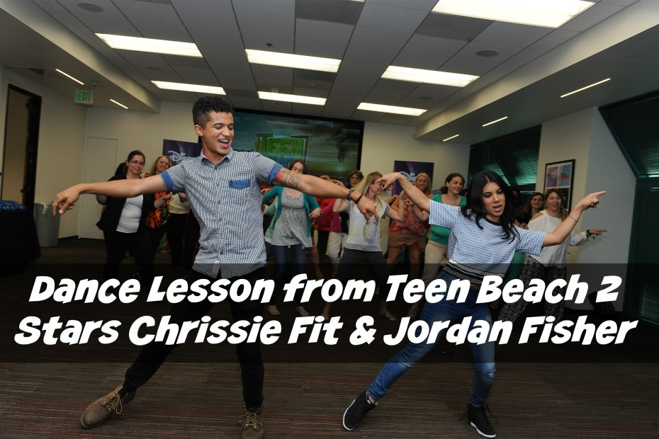 dance lesson from Teen Beach 2 Stars