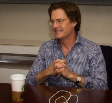 Kyle MacLachlan Exclusive Interview as being Dad in Inside Out