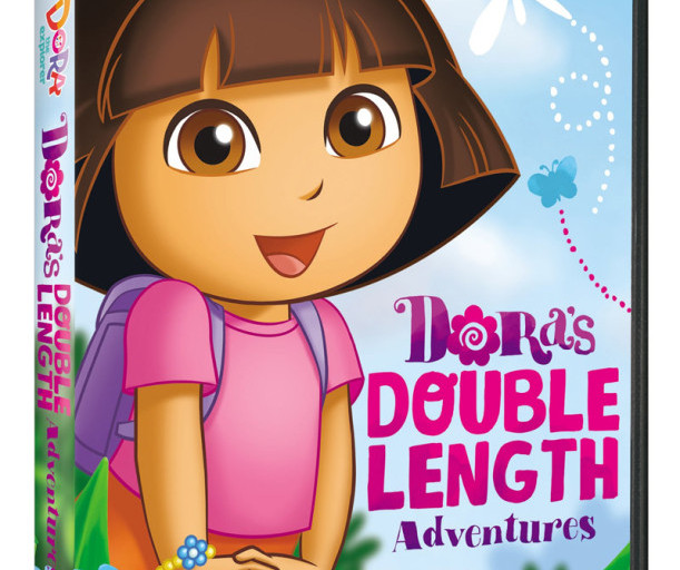 Dora the Explorer: Dora's Double Length Adventures Available on DVD August 4