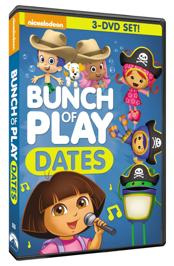 Nickelodeon Bunch Of Play Dates Now Available On Dvd