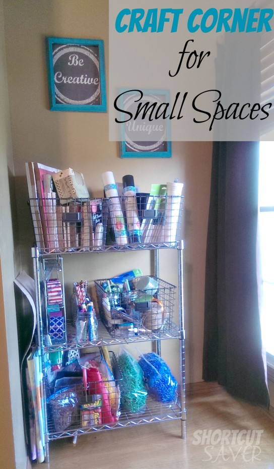 craft corner for small spaces