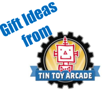 Gift Ideas from Tin Toy Arcade for Boys and Girls
