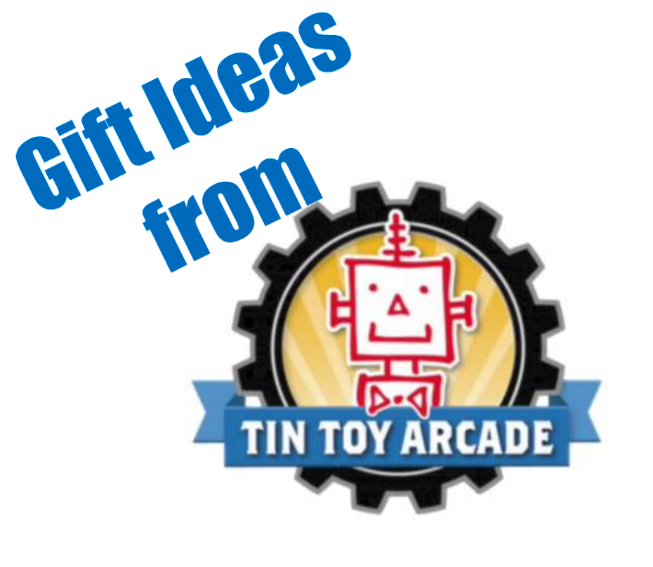 gift ideas from tin toy arcade