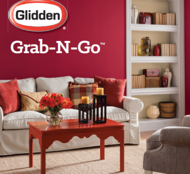 Skip the Paint Counter Line with Glidden Grab N Go Paint at Walmart
