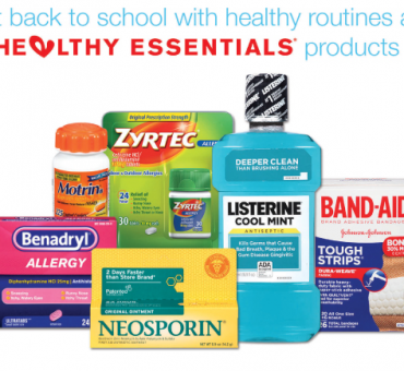 Earn Walgreens Balance Rewards with J&J Healthy Essentials Products