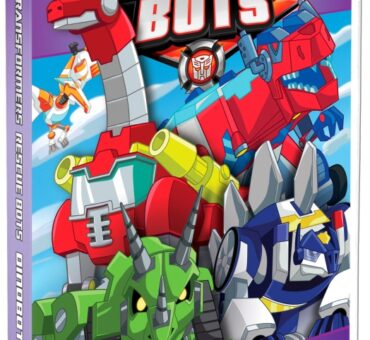 Transformers Rescue Bots Dinobots! Available on DVD August 25