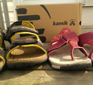 Kamik Sandals are Cool and Comfortable for Summer Walks