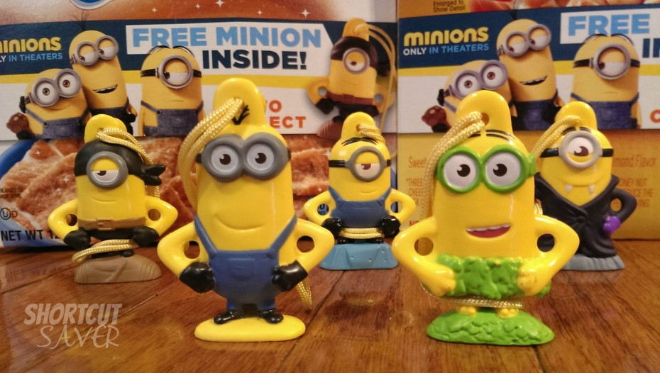 The Minions Invade General Mills Cereal & Fruit Snacks