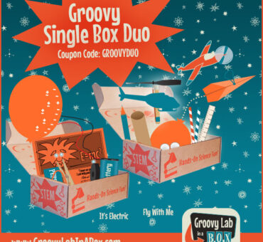 "New ""It's Electric"" Groovy Lab in a Box"