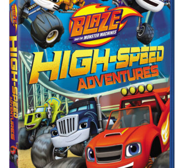 Blaze and the Monster Machines: High-Speed Adventures Available on DVD August 11