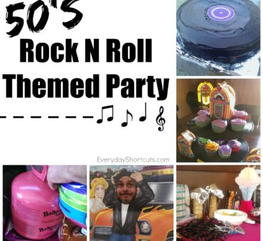 50's Rock N Roll Themed Party