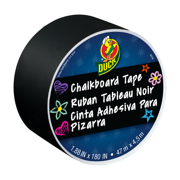 DUCK CHALKBOARD CRAFT TAPE 1.88IN X 5YD 6BB