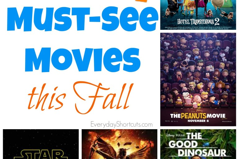 Must-See Movies this Fall