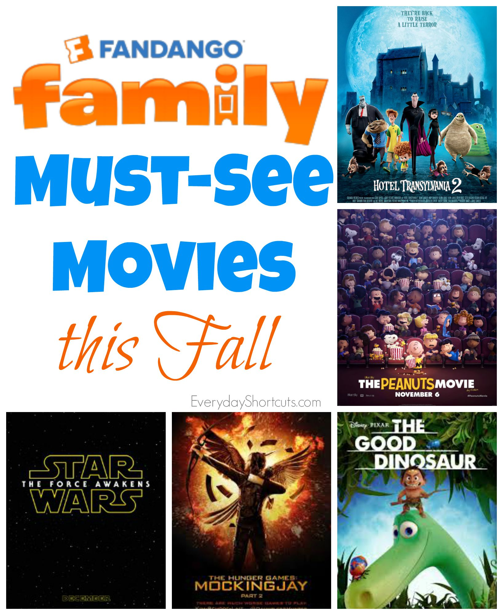 fandango must see movies this fall