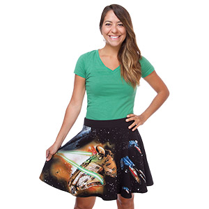 fighter scene skirt