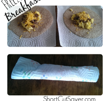 Freezer-Friendly Breakfast Burritos – Just 4 Ingredients!