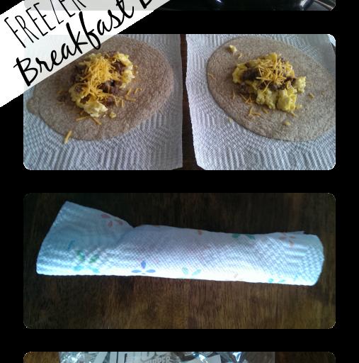 Freezer-Friendly Breakfast Burritos – Just 4 Ingredients!