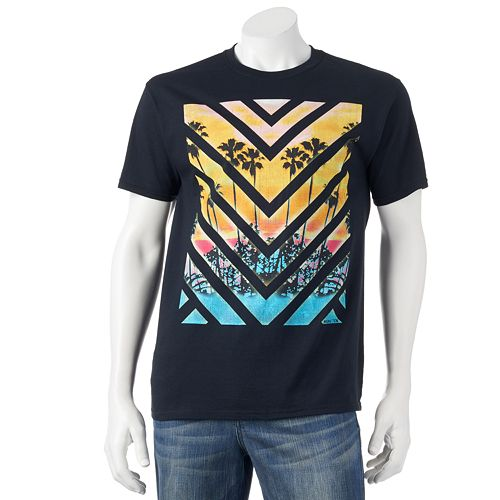 hang ten sunset tee