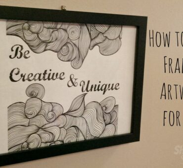 How to Make Framed Artwork for Less