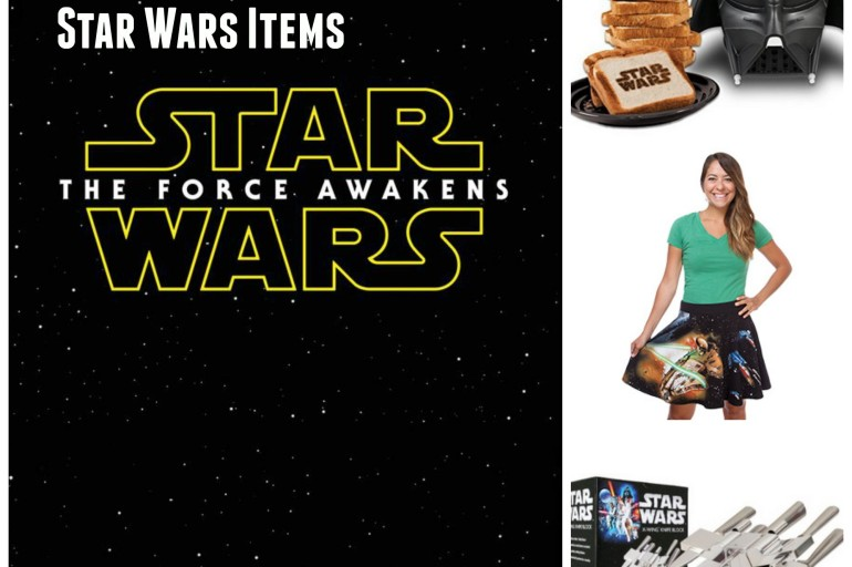 Top 10 Must-Have #StarWars Items #TheForceAwakens