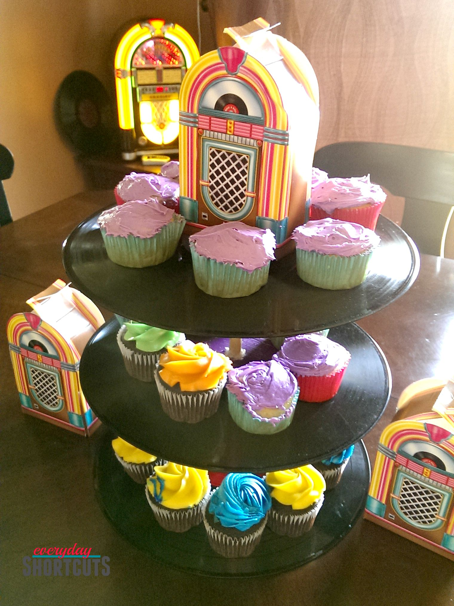 record cupcake tower
