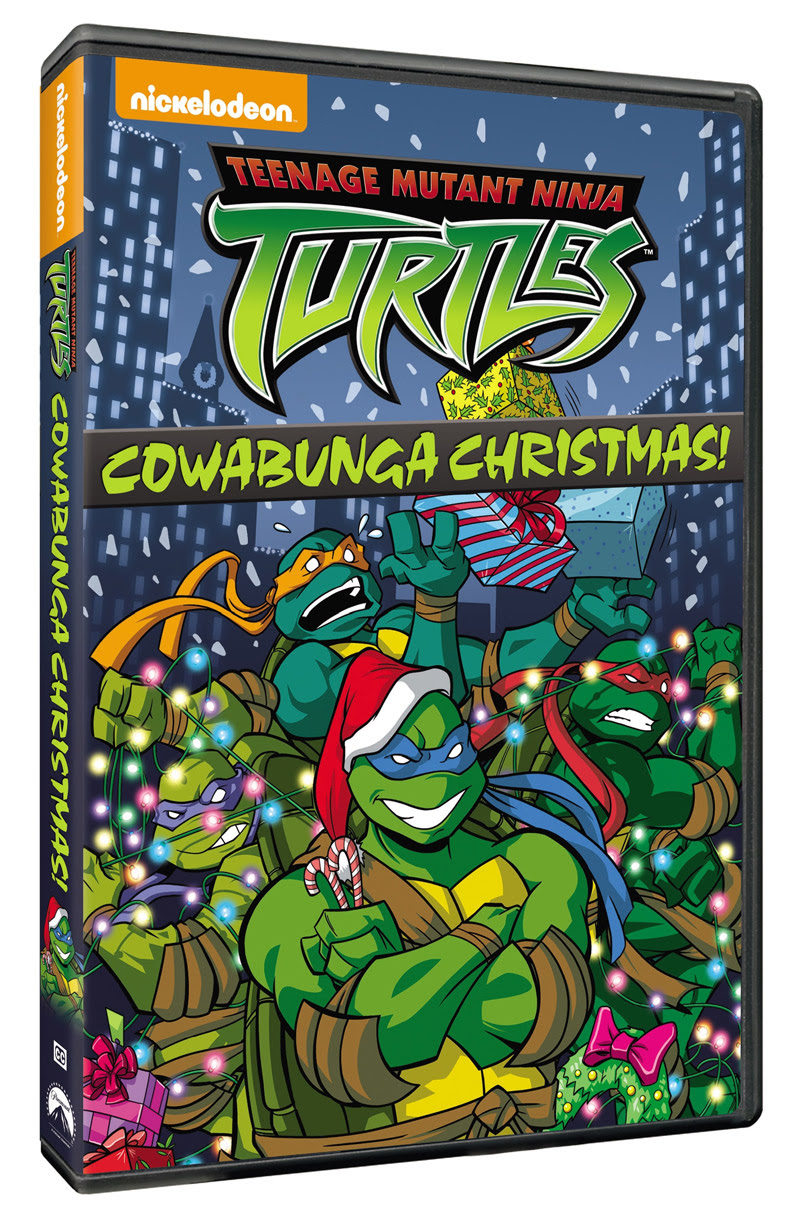 Teenage Mutant Ninja Turtles: Cowabunga Christmas! Available on DVD ...