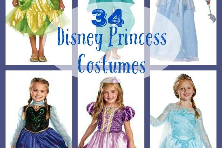 Disney Princess Costumes for Halloween