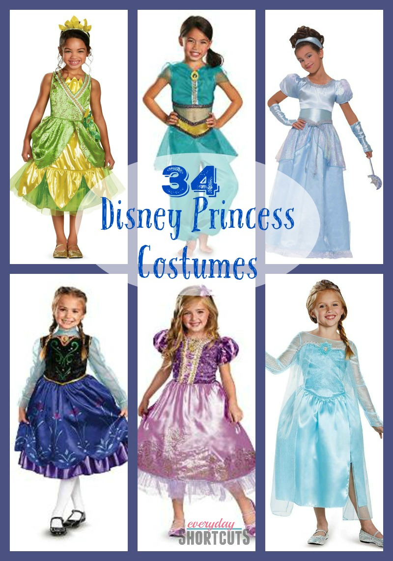 07fbdcd99b1a Costumes Disney Princess   Dressing Your Daughter As A Princess At ...